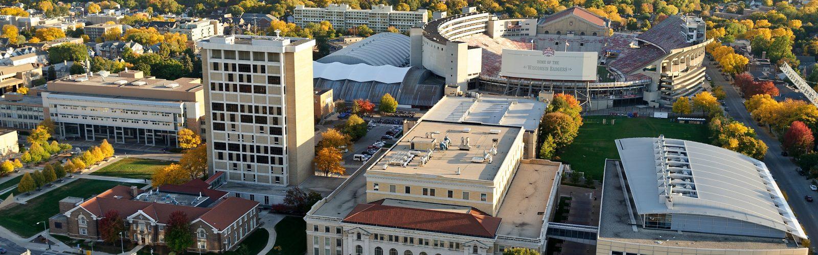UW Engineering Campus Overhead Photo